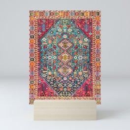 N131 - Heritage Oriental Vintage Traditional Moroccan Style Design Mini Art Print