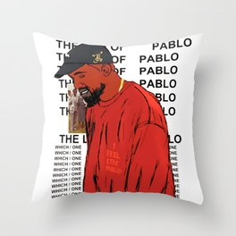 The Life of Pablo Throw Pillow