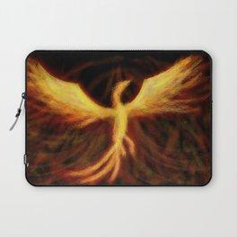 Phoenix Rising Fantasy Painting Bird Mythology Lengendary Creature Rebirth Colorful Laptop Sleeve