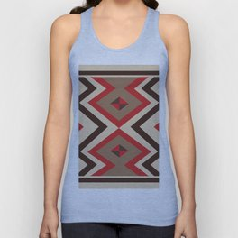 American Native Pattern No. 141 Unisex Tank Top
