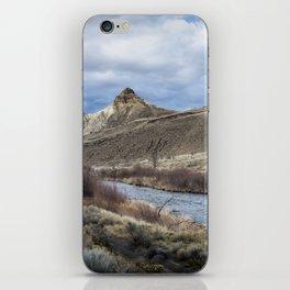 John Day River and Sheep Rock iPhone Skin