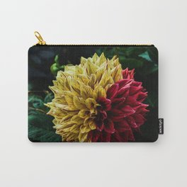 Yellow Red Carry-All Pouch
