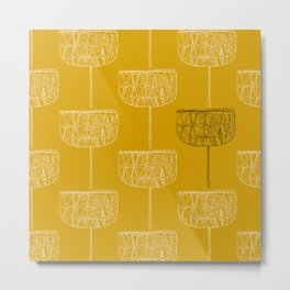 Mustard seeds Metal Print