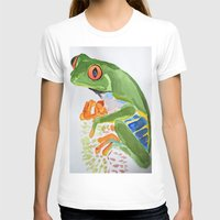 frog T-shirts featuring Frog by The Traveling Catburys