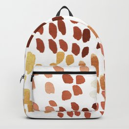 Colorful City Dots Backpack