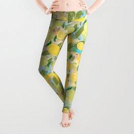 Lemon Song Leggings