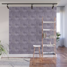 Industrial Abstract Texture in Lavenders Wall Mural