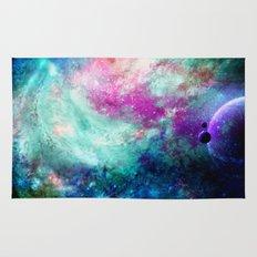 Teal Galaxy Rug