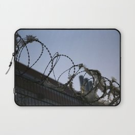 Barbed Wire Sky Laptop Sleeve