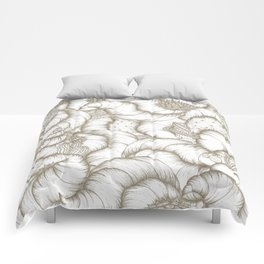 ABSTRACT CATUSES Comforters
