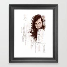 French Paper Framed Art Print