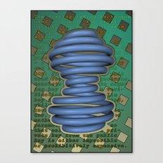 Public Encryption Canvas Print
