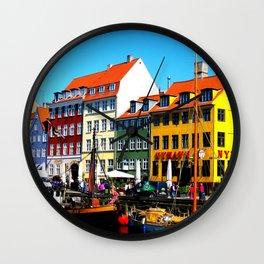 Copenhagen II Wall Clock