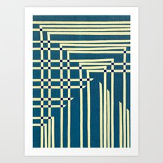 Circuit Board Art Print