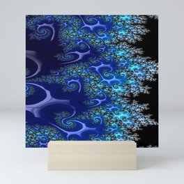 Blue Lace Mini Art Print