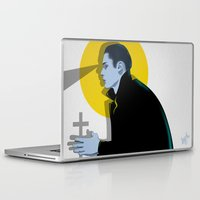 vampire Laptop & iPad Skins featuring Vampire by Musya