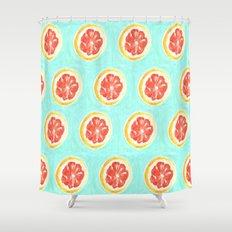 Grapefruit II Shower Curtain