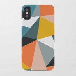 Modern Geometric 36 iPhone Case