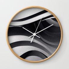 Paper Sculpture #5 Wall Clock