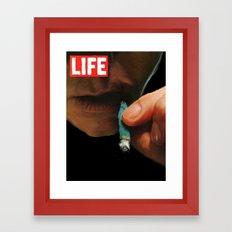 LIFE MAGAZINE: Marijuana Framed Art Print