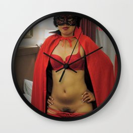 Filipino Girl, Vampire Costume, Asian Sexy Cosplay Fetishes Wall Clock