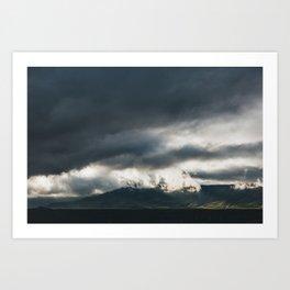 Iceland Weather Art Print
