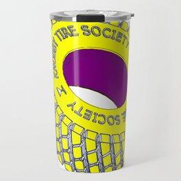 Knobby Tire Society Travel Mug