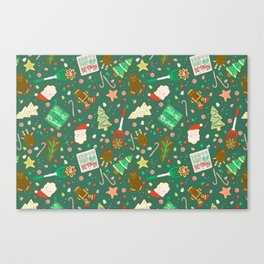 Baking Up Warm Wishes Canvas Print