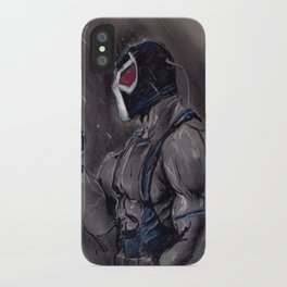 The Man who Boke the Bat! iPhone Case