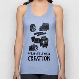 Weapons Of Mass Creation - Photography (clean) Unisex Tank Top
