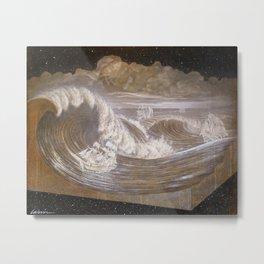 """Rogue Waves"" Metal Print"