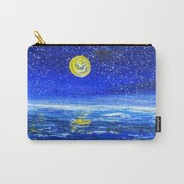 Ocean at Night Carry-All Pouch