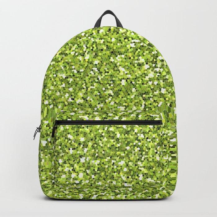 Green shine Backpack