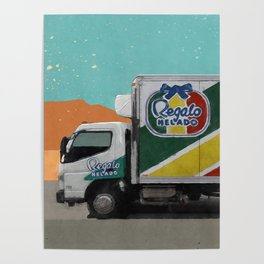 Regalo Helado - The Drug Truck - Better Call Saul Poster