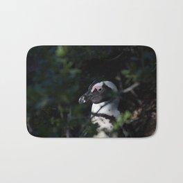 Portrait of a Penguin Bath Mat