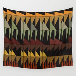 Dibon - Earth Tones Wall Tapestry