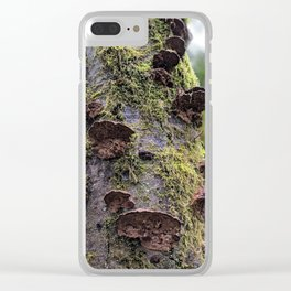 Outward and Upward Clear iPhone Case