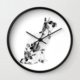 Cat 22 Wall Clock