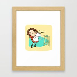 Best Buddies Framed Art Print