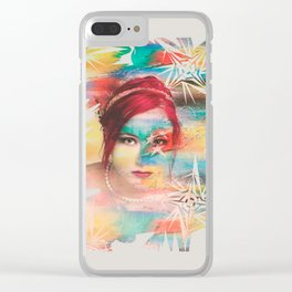 Color girl Clear iPhone Case