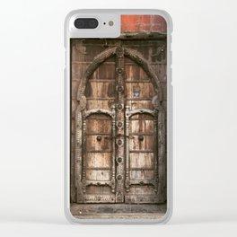 Mexico Door Clear iPhone Case