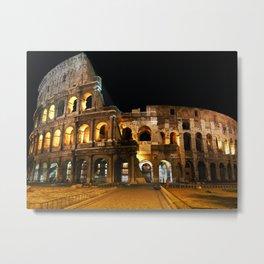 Roman Coliseum Metal Print