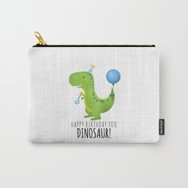 Happy Birthday You Dinosaur! Carry-All Pouch