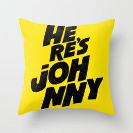 Here Is Throw Pillow