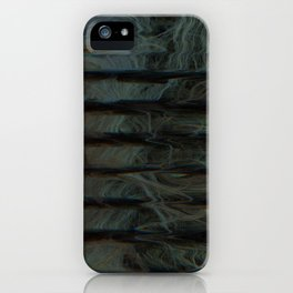 Scattered Waves: Heavy Rapids iPhone Case