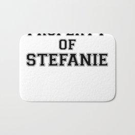 Property of STEFANIE Bath Mat