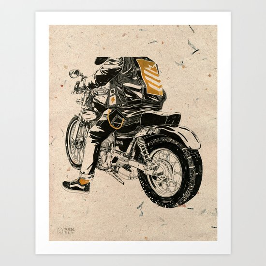 Hard & Heavy  Art Print