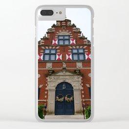 Zwaanendael Museum Clear iPhone Case