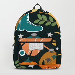 Autumn clothing Backpack