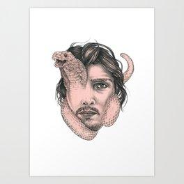 Snakehead Art Print